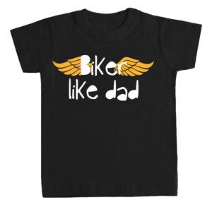 BIKER LIKE DAD camiseta niños