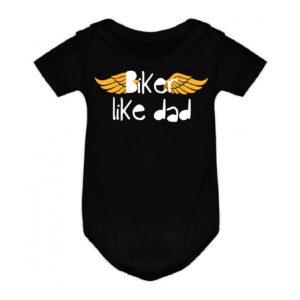 BIKER LIKE DAD bodie bebé