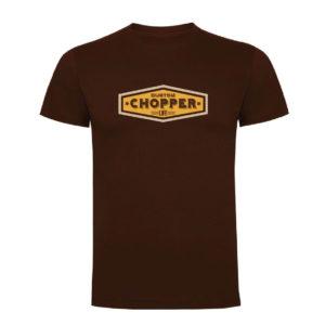CHOPPER LIFE camiseta hombre marron