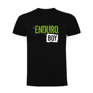 ENDURO BOY camiseta hombre negra