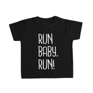 RUN BABY RUN! camiseta bebé